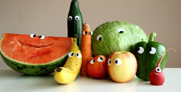 Wie macht Essen glücklich?