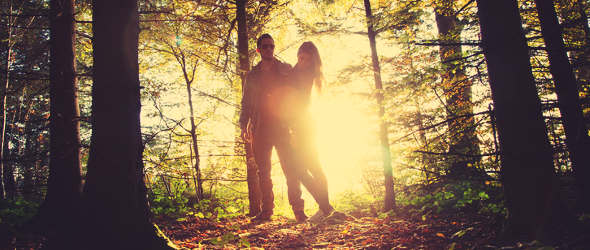 Neues Bewusstsein zwischen Mann und Frau Adam und Eva