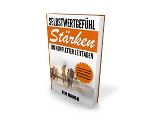 Weitere Möglichkeiten, sein Selbstwertgefühl aufzubauen und in einen besseren Kontakt mit sich selbst zu gelangen, findest du übrigens in Tims Buch zum Thema Selbstwertgefühl stärken. Schau es dir doch einmal an.