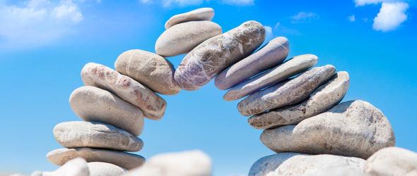 Steinbalance als Meditation